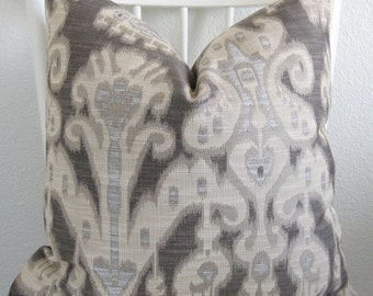 31446.1611 Kravet Ikat Pillow Cover