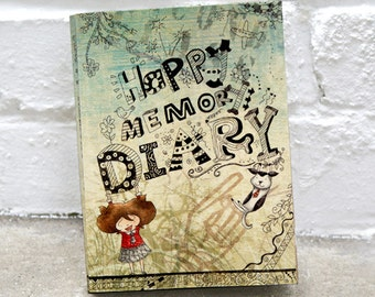 90% OFF SALE - Happy Memory Diary