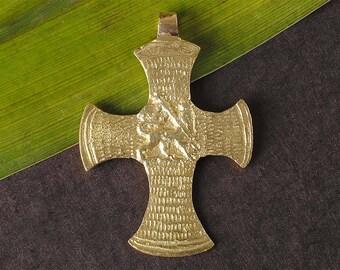 Ethiopian  cross Coptic cross lion of judah Rasta jewelry Rasta pendant Haile Selassie cross African spacer beads clothing reggae pendant