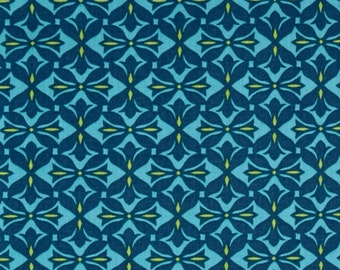 Voile Amy Butler Cross Print in Ink from the Dream Weaver Collection 1 Yard
