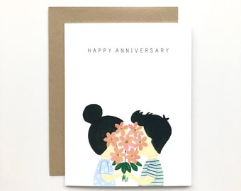 Couple - Love Card, Anniversary Card