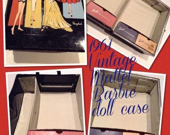 Vintage Large Barbie Case