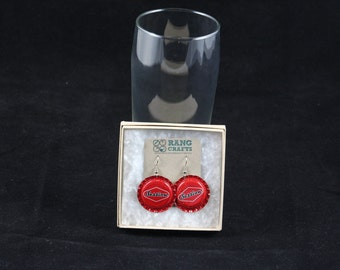 Session Earrings (Red)