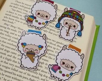 Lama || Magnetic Bookmark
