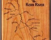 Kern River Map Fly Box - ...