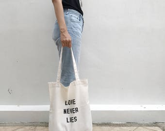 Quote tote bag, shopping tote bag, Inspired tote bag, tote bag, Eco tote bag, gift