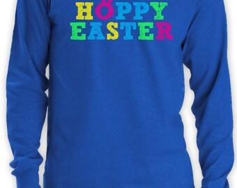 Hoppy Easter Men's Long Sleeve T-Shirt
