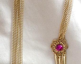 Sara Coventry Upcycled  Opera  Necklace
