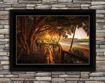 Airlie Afternoon, limited edition, archive quality, photographic print, sunset, by Michelle Andrews