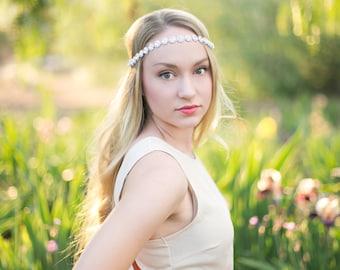 Wedding Headbands - Crystal Bridal Headband - Bridal Headpiece - Prom - Wedding Accessory - Wedding Headband - Bridesmaid - Flower Girl