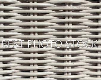 White Wicker Background Photo Stock | Digital Image | Business Promotion