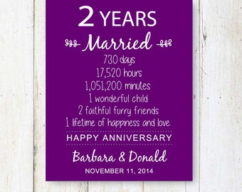 Beautiful Second Year Wedding Anniversary Contemporary - Styles ...
