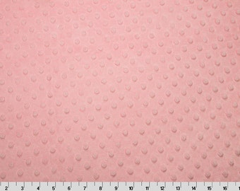 Blush Dimple Minky From Shannon Fabrics