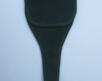 Forest Green Suede Scissor Case