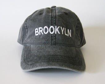 Brooklyn cap embroidered cap baseball cap dad cap brooklyn hat