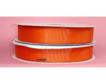 1.5 inch x 50 yds grosgrain ribbon - ORANGE