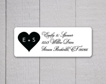 Wedding Invitation Return Address Labels, Wedding Stickers, Return Address  Stickers For Invitations (#346)