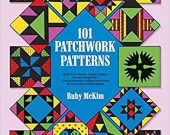 101 Patchwork Patterns (Dover Quilting)