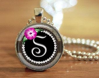 Letter Necklace, Letter Keychain, Letter Pendant, Letter Jewelry, S Letter, S Letter Necklace, S Letter Keychain, S Letter Jewelry