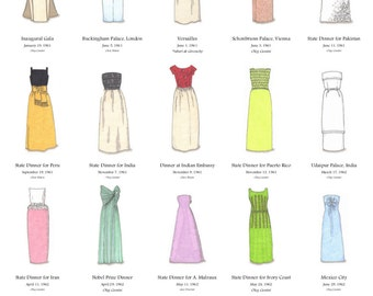 The Gowns of Jacqueline Kennedy Poster