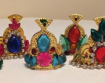 Deity Crowns / Pooja decor/ Return gifts - Single Piece