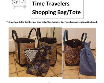 Thermal Shopping Bag Insert for Daydreamers & Time Travelers Shopping Bag
