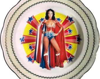 Super Heroin - Vintage Porcelain Plate - #0574