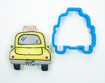 Taxi Cab Cookie Cutter