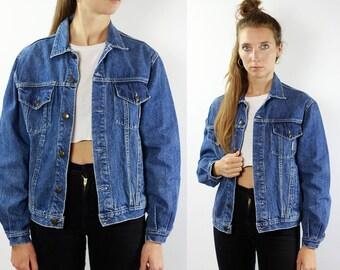 Vintage Denim Jacket Vintage Jean Jacket 80s Denim Jacket Vintage Jean Jacket Vintage Jacket Blue Denim Jacket Blue Jean Jacket Vintage