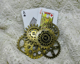 Twenty One Steampunk Brooch