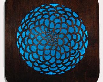 Blue Mandala Dream Light