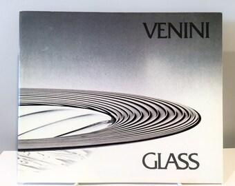 Catálogo de la exposición de vidrio Venini 1981