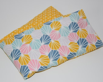 Heating pad with lavender and organic flaxseed - special neck / 00575