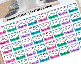 Mail Planner Stickers for your Erin Condren Planner