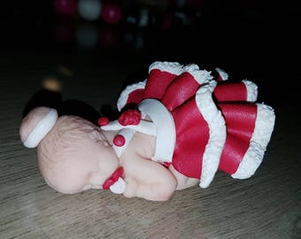1 baby Christmas rustle choose colors
