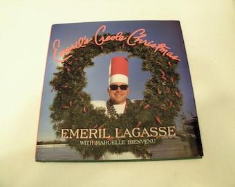 Emeril's Creole Christmas Cookbook Emeril Lagasse 1997 HCDJ Hardcover 1st Edition
