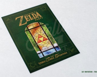 Zelda invitation etsy stopboris Choice Image