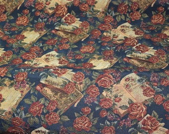 Baroque FLORAL TAPESTRY Fabric By the YARD