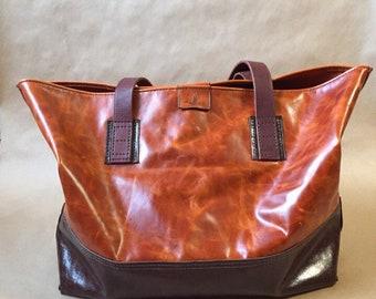 Leather bag Tout