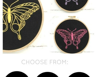 Butterfly Embroidery Kit {basic}