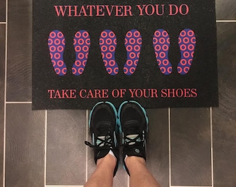 Phish Inspired Cavern Mat - Whatever You Do Take Care of Your Shoes!