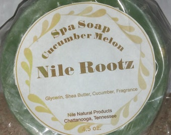 Nile Rootz Cucumber Melon Spa Soap