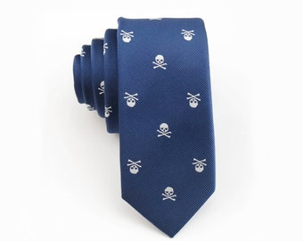 Skull Necktie,Skulls Tie,Mens Necktie,Black Skulls Tie,Personalized Wedding Tie,Mens Grooming,Tie for Party,Tie for wedding,Mens Gifts