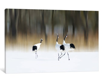 iCanvas Sing A Song Of Love Gallery Wrapped Canvas Art Print by Ikuo Iga