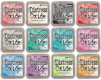 12 Tim Holtz Distress Oxide Inks, Set#2