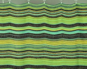 Vintage Green/Yellow Boho Vintage 80s curtain