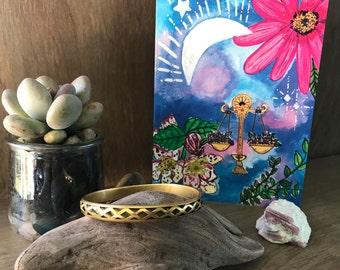My Moon Zodiac: Libra Greeting Card