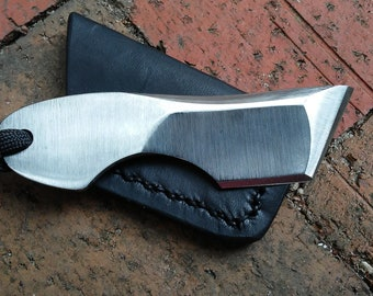 Phillip Bures Custom Handmade Tactical EDC Tanto Pocket Knife