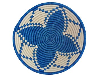 Rwanda Basket / African Basket / Raffia Basket / Sweetgrass basket