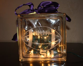 LSU Football Team Night Light